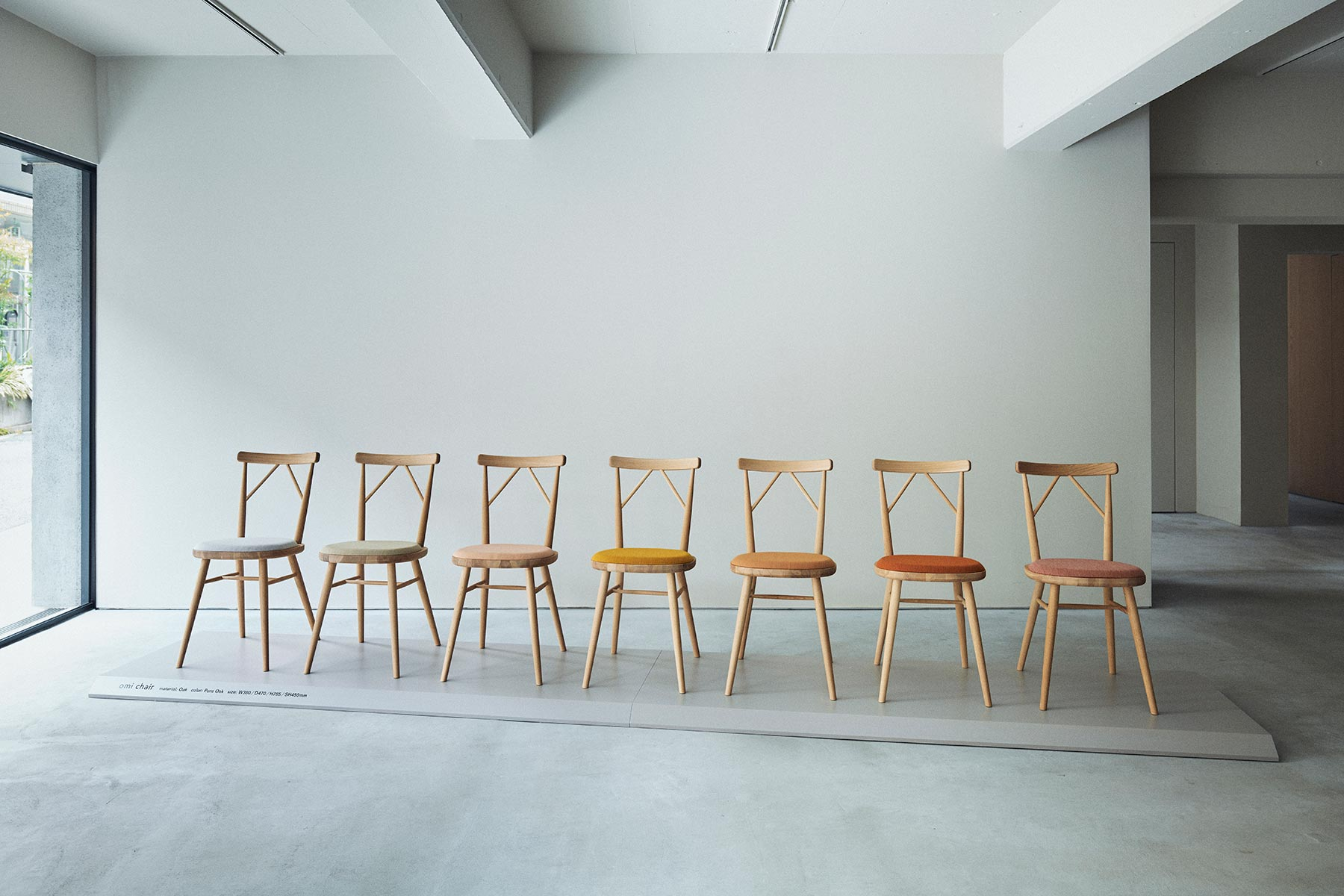 omi chair Exhibition